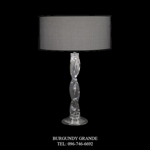 8023/LG, Luxury Modern Table Lamp from Italy