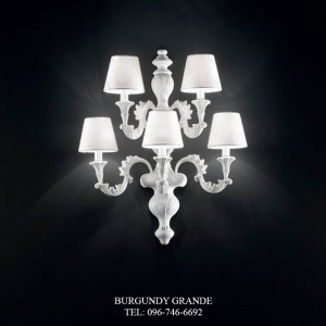 A 13618-5 CP, Luxury Wall Lamp from Italy