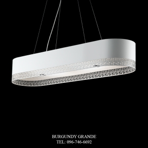 L 14463/8, Modern Hanging Lamp from Italy