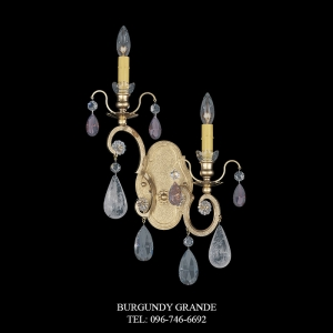 Renaissance Rock Crystal 3557, Luxury Wall Lamp from Schonbek