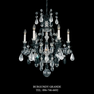 Renaissance Rock Crystal 3570, Luxury Chandelier from Schonbek