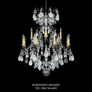Renaissance Rock Crystal 3572, Luxury Chandelier from Schonbek