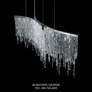2305/S, Luxury Crystal Chandelier from Italy
