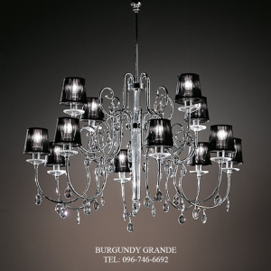 741/8+4, Luxury Classic Crystal Chandelier from Italy