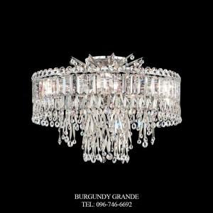 Triandra LR1004, Luxury Crystal Ceiling Lamp from Schonbek, America