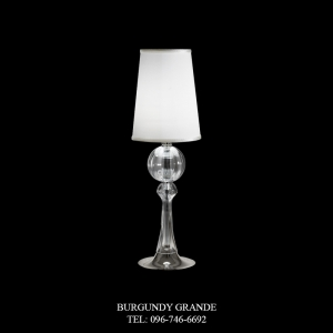 8095/LG, Luxury Contemporary Table Lamp from Italy