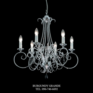 743/6, Luxury Modern Chandelier from Italy