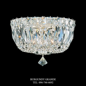 Petit Crystal Deluxe 5890, Luxury Ceiling Lamp from Schonbek