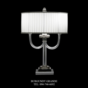 8079/LG, Luxury Contemporary Table Lamp from Italy