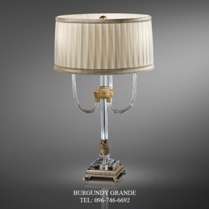 530/LG, Luxury Classic Table Lamp from Italy