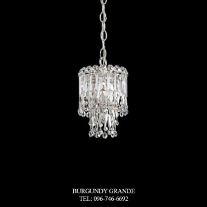 Triandra LR1006, Luxury Crystal Hanging Lamp from Schonbek, America