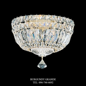 Petit Crystal Deluxe 5891, Luxury Ceiling Lamp from Schonbek