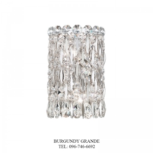 Sarella RS8333, Luxury Crystal Wall Lamp from America
