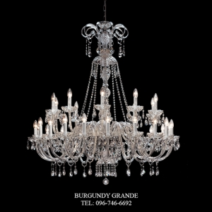 117/20+10, Luxury Crystal Chandelier from Italy