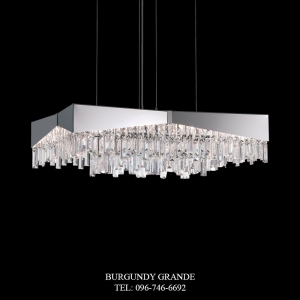 Riviera RF2432N, Luxury Modern Crystal Hanging Lamp from America