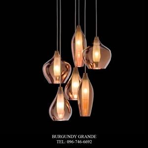 Kel S6, Luxury ModernHanging Lamp from France