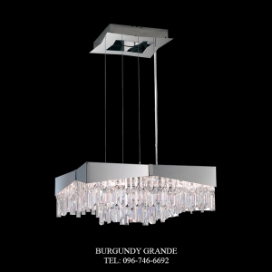 Riviera RF2424E, Luxury Crystal Hanging Lamp from America