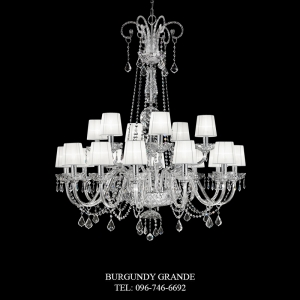 L 14424/12+6 CP CR, Luxury Chandelier from Italy