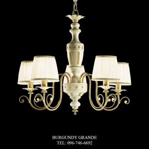 L 13670/5 CP, Luxury Chandelier from Italy