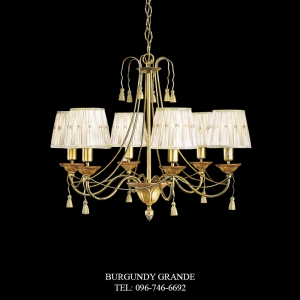 L 13593/6 CP, Luxury Chandelier from Italy