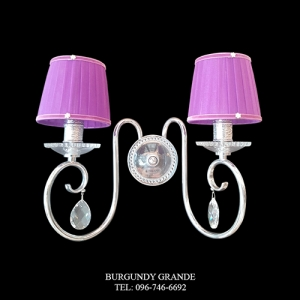 741/AP2, Luxury Classic Wall Lamp from Italy