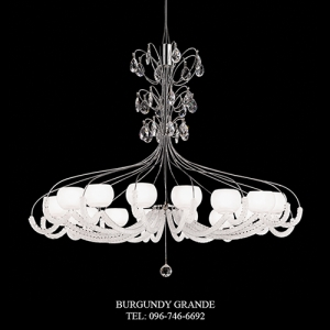 475/12, Luxury Blown Glass Chandelier from Italy