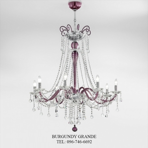 655/8, Luxury Crystal Chandelier from Italy