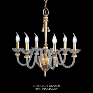 L 13715/6, Luxury Chandelier from Italy