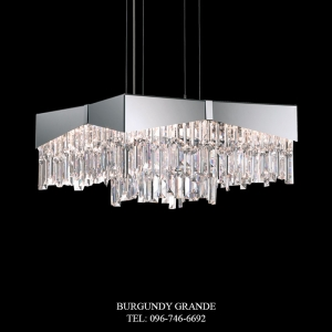 Riviera RF2418N, Luxury Modern Crystal Hanging Lamp from America