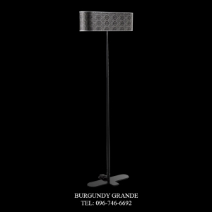 2325/LP, Luxury Contemporary Floor Lamp from Italy