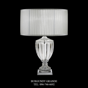 8075/P, Luxury Classic Table Lamp from Italy