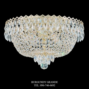 Camelot 2617, Luxury Classic Crystal Ceiling Lamp from Schonbek, America