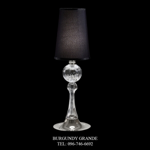 8095/LP, Luxury Contemporary Table Lamp from Italy