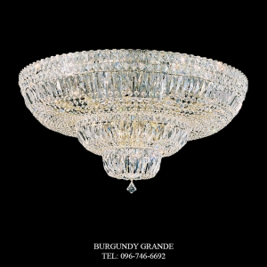 Petit Crystal Deluxe 5898, Luxury Ceiling Lamp from Schonbek