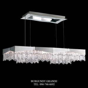 Riviera RF2448, Luxury Crystal Hanging Lamp from America
