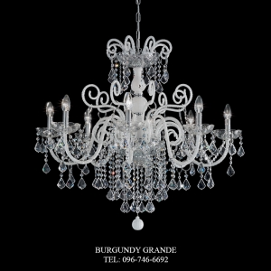 947/8, Luxury Crystal Chandelier from Sylcom