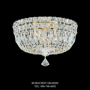 Petit Crystal Deluxe 5892, Luxury Ceiling Lamp from Schonbek