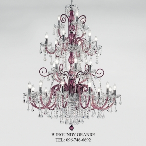 947/12+6+6+3, Luxury Crystal Chandelier from Italy