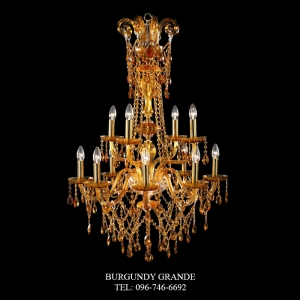 VERMONT 8+4, Luxury Crystal Chandelier from Spain