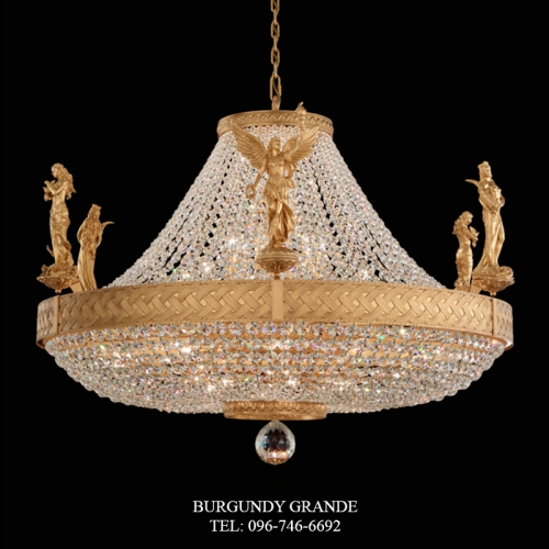 Fortune, Love & Victory, Luxury Chandelier from America